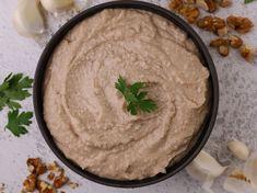 Σκορδαλιά με καρύδια Hummus, Ethnic Recipes, Food, Eten, Meals, Diet