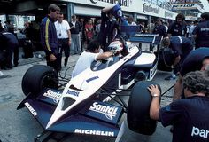 1984 F1 World Championship. Nelson Piquet - Brabham BMW Turbo