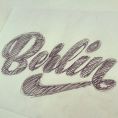 Berlin, sketch by Martina Flor