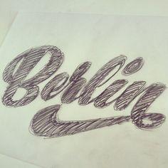 Berlin, sketch by Martina Flor