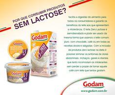 Você já conhece a linha de produtos sem lactose Godam? Conheça nossos produtos: http://godam.com.br/category/todos-produtos/