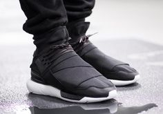This new black and white colorway of the adidas Y-3 Qasa High is set to drop later this month.