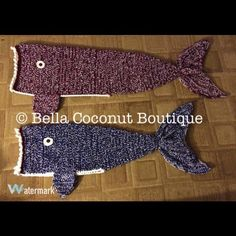 I love making these fish blankets! What a great alternative to the #mermaidtail…