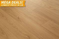 Mega Deal 8mm Oak Plank Laminate Flooring