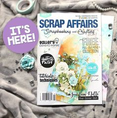 Scrap Affairs features Artist in Residence Jowilna for the cover art!