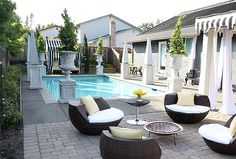 I would love to have a pool!