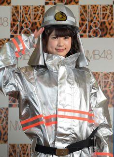 (NMB48の青春トーク)「消防団ズ」で若者にPRを 渋谷凪咲さん:朝日新聞デジタル