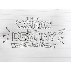 #shutupanddance #walkthemoon #lyrics #lettering #レタリング