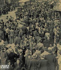 Calea Victoriei în 1935!  Sursa: Ilustrațiunea Română(1935)
