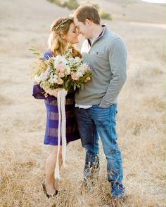 Penelope Pots Floral Design - Engagement Shoot