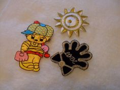 3 boy applique, patch   Iron on Embroidered Applique by SHOPTILLYOUDROPNOW, $5.00