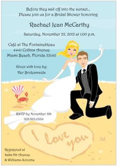 At Home Reception Invite From A Destination Wedding Maui D Sweet Ideas Pinterest And