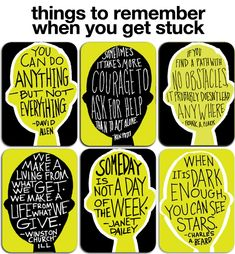 When you get stuck... There really is an app for that! Love the quotes that they share. I could totally use these as discussion points in the classroom.