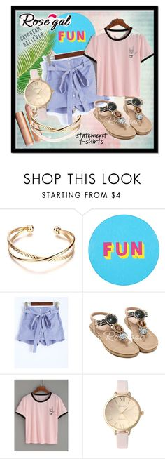 """""""Daydream#Magic#Rosegal"""" by bamra ❤ liked on Polyvore featuring Lisa Perry"""