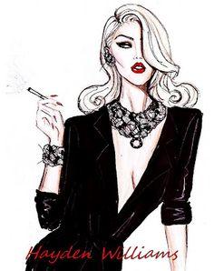 Blonde Vixen by Hayden Williams
