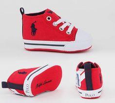 Ralph Lauren Polo Nursery Montauk High £34.99  http://www.footasylum.com/RALPH-LAUREN-POLO-Nursery-Montauk-High-Trainer-P042317/