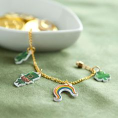 St. Patrick's Day Printables for Shrink Charms, Stickers etc.