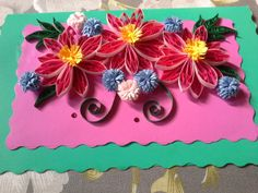 Paper quilling card!!