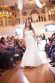 Bridal Fashion Show. Wedding Dress. #weddings #weddingweek   www.exposinthecity.com
