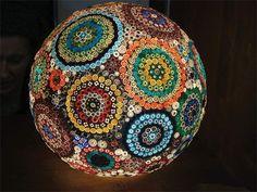 Mosaik Lamp by Kirsten Jonas