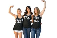 Bridesmaid Bachelorette Party Shirts Inspired by Harry Potter- Maid of Honor - Bride - Bridesmaid - Team Bride