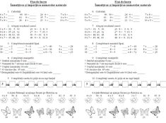 EDUCATIA CONTEAZA : INMULTIREA SI IMPARTIREA NUMERELOR NATURALE Star Coloring Pages, Second Grade Math, Math For Kids, Words, School, Google, Home, Calculus, Kids Math