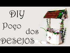 DIY: Como Fazer um Poço dos Desejos para Decorar seu Quarto (Artesanato com Palitos de Picolé) - YouTube