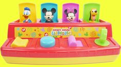 Mickey Mouse Clubhouse POP UP Pals Toy Slime Surprises Minnie Pluto Goofy Donald Toys LEARN COLORS  This is an educational learning video with toys that can help with eye-hand coordination fine motor skills and learning English as a second language (ESL).  Subscribe here to never miss a video: https://www.youtube.com/channel/UCsRW8ikkc-uISUXtNKBfFcw?sub_confirmation=1  - Watch my last video: https://youtu.be/OnsLCj5drfA  Sparkle Spice is a channel where we make learning videos for preschools…