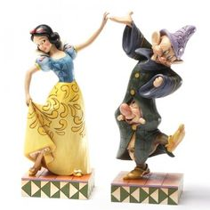 Dancing Partners-Snow White, Dopey And Sneezy Figurine, by Jim Shore, 2012.