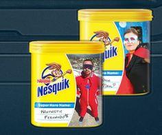 Create a FREE custom Nesquik container!