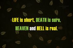 Heaven Quotes In Hindi Heaven Quotes, Heaven And Hell, Life Is Short, Hindi Quotes, Death