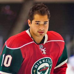 Devin Setoguchi-seems like everyone is leaving the Wild this year. Good luck in Winnipeg!!
