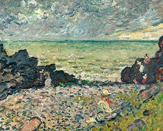 Seashore - Louis Valtat 1906