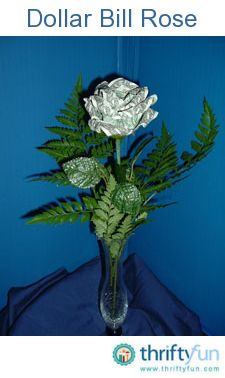 A single rose is an elegant gift, no matter what the occasion. I have been making these since the early '70s.
