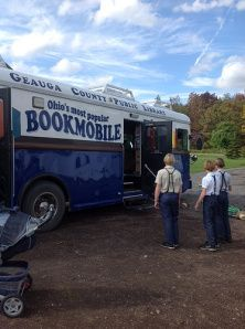 Geauga County Public Library, Ohio's most popular bookmobile, serves Amish communities.