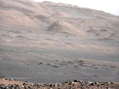 Planet Mars - This image is from a test series used to characterize the 100-millimeter Mast Camera on NASA's Curiosity rover. It was taken on Aug. 23, 2012, and looks south-southwest from the rover's landing site.