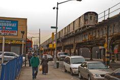 The Bronx, New York | Bronx, New York, Subway 173. Straße