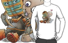 """Dead Space Hugs"" T-Shirts & Hoodies by aLIVEandWIREd 