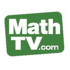 MathTV - Math Videos arranged by topic including introductory math, algebra, trigonometry and calculus.