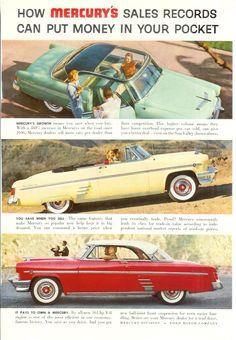 1954 Mercury, including Sun Valley (Top).