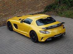 Romans are pleased to offer this Mercedes-Benz SLS AMG Black Series for sale presented in AMG Solar Beam Yellow with Black Leather & Alcantara. Maserati, Bugatti, Ferrari, Mercedes Benz Sls Amg, Used Mercedes Benz, Classic Mercedes, Audi, Porsche, Super Sport Cars