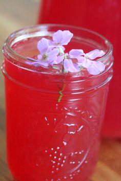 Honey Hibiscus Lemonade
