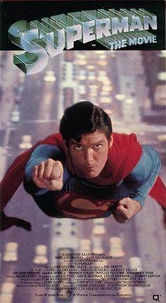 'Superman the movie', Christopher Reeve, Margot Kidder, Gene Hackman Superman Movies, Superhero Movies, Real Superman, Superman Poster, Superman News, Superman Comic, Love Movie, Movie Stars, Movie Tv