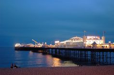 Brighton Pier, Brighton, England, the beautiful place my boyfriend was born and raised, definitely need to take a trip there
