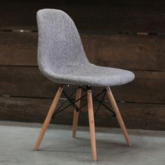 Eames Style Fabric Side Chair DSW