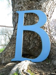 3 Ft. Wooden Initial