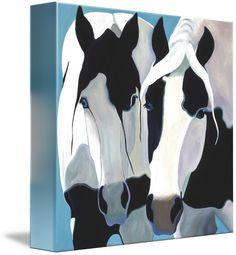 """Kindred+Spirits""+by+Leslie+Anne+Webb,++//+Horses+have+captured+my+heart+with+their+spirit,+their+grace,+their+humor,+and+the+language+of+their+soul.+Each+painting+portrays+the+essence+of+the+horse,+their+personality,+and+captures+the+vibrancy+of+their+spirit.+Every+image+is+of+an+actual+horse,+with+photos+I've+paint...+//+Imagekind.com+--+Buy+stunning+fine+art+prints,+framed+prints+and+canvas+prints+directly+from+independent+working+artists+and+photographers."