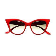 b56a7f2c4ac Vintage Retro Fashion Style Tip Pointed Cat Eye Sunglasses Shades C91  Illesteva Sunglasses