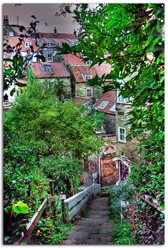 Robin Hood's Bay. Every photo I see of this place makes me think I need to visit on my next trip to England....alw