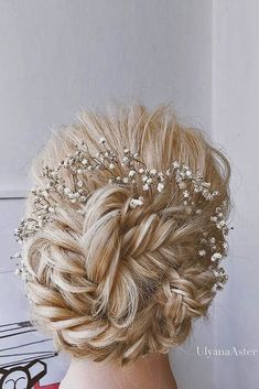 18 Wedding Hairstyles For Every Hair Length ❤️ We collected for future Mrs some ideas of wedding hairstyles for every hair length. See more: http://www.weddingforward.com/wedding-hairstyles-every-hair-length/ #weddings #hairstyle #weddinghairstyles #weddinghairaccessories